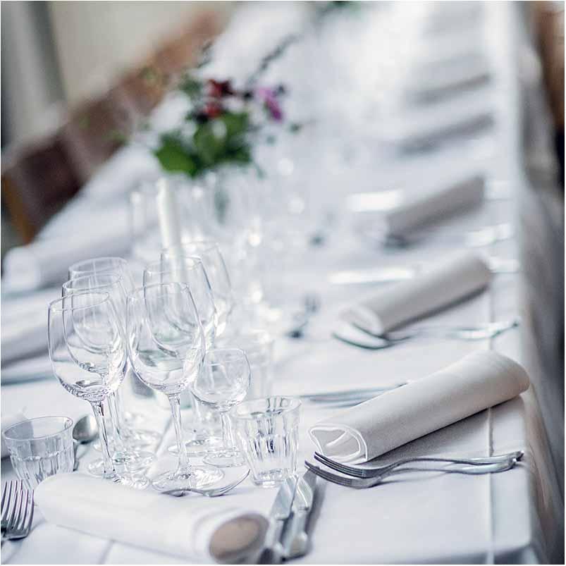 bord pynt bryllup