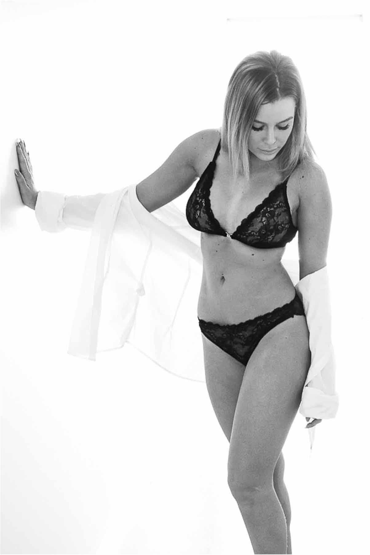 Boudoirfotografering er en sensuel fotografering af kroppen med enten synligt undertøj