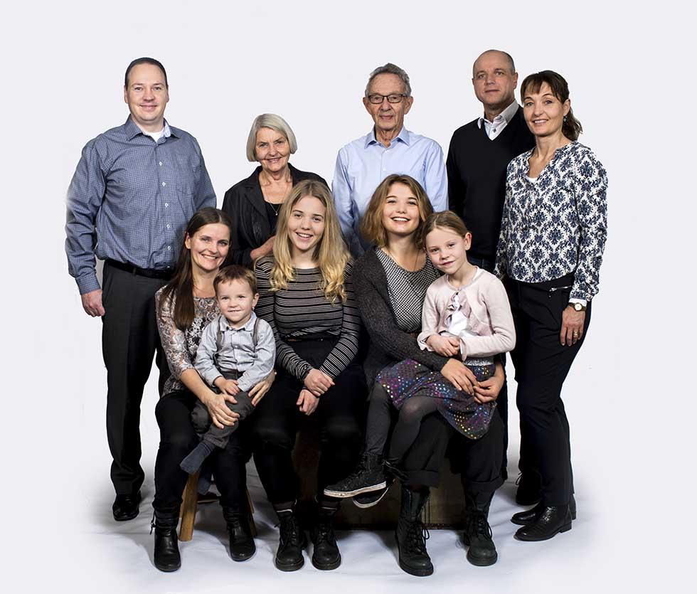 Billeder af familie gruppefoto fyn