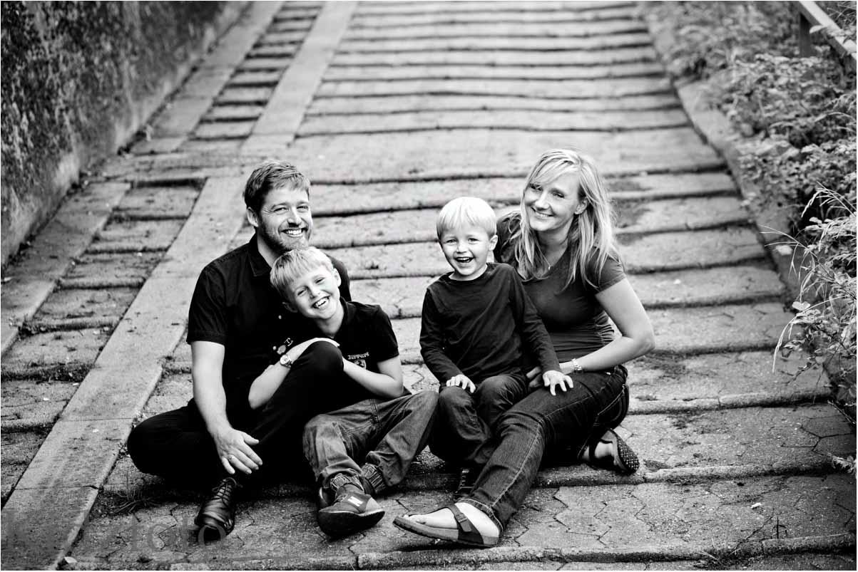 Flere og flere får lavet familiebilleder til at hænge frem