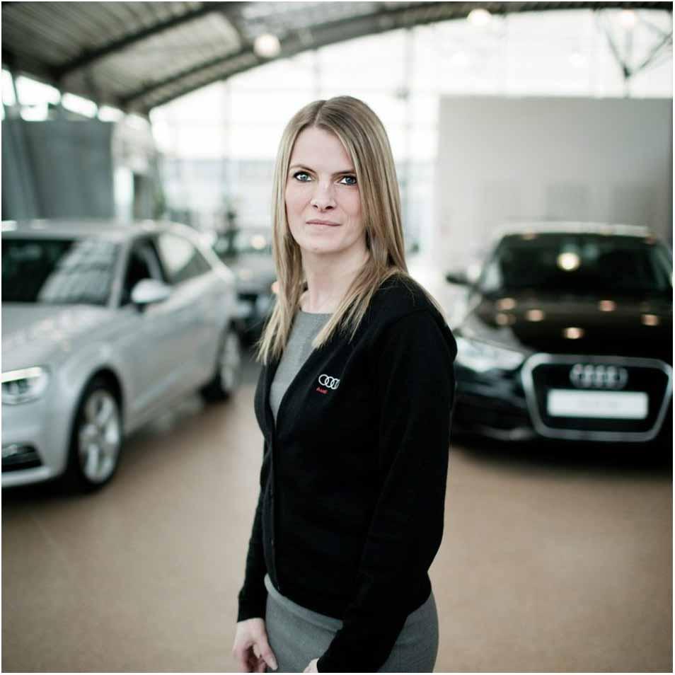 virksomhedsportræt Audi Fyn